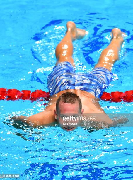 Caeleb Remel Dressel during the Budapest 2017 FINA World Championships on July 27 2017 in Budapest Hungary