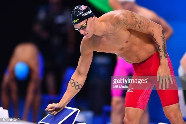 Caeleb Remel Dressel during the Budapest 2017 FINA World Championships on July 28 2017 in Budapest Hungary