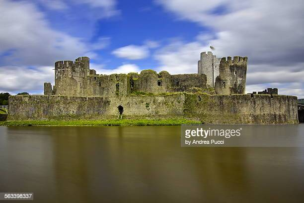 Caerphilly castle, Wales, United Kingdom