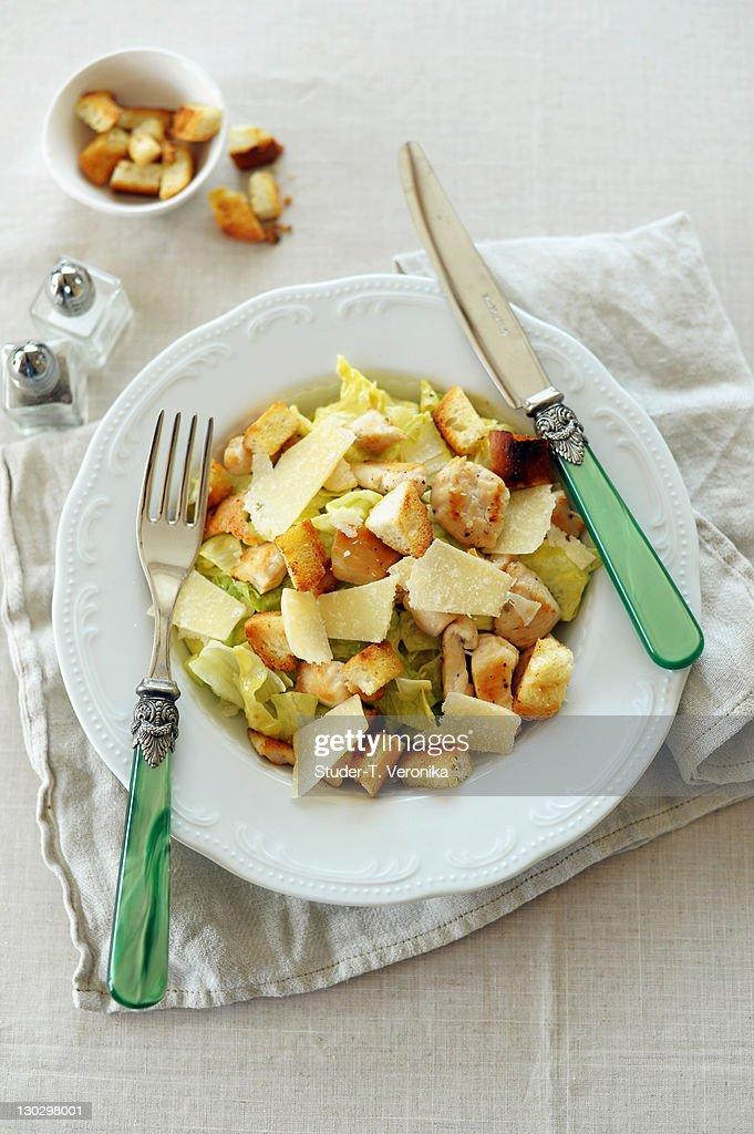 Caesar salad : Stock Photo