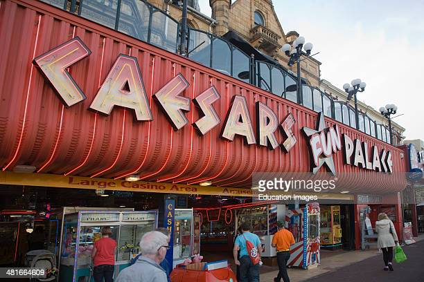 Caesars Palace amusement arcade Great Yarmouth Norfolk England