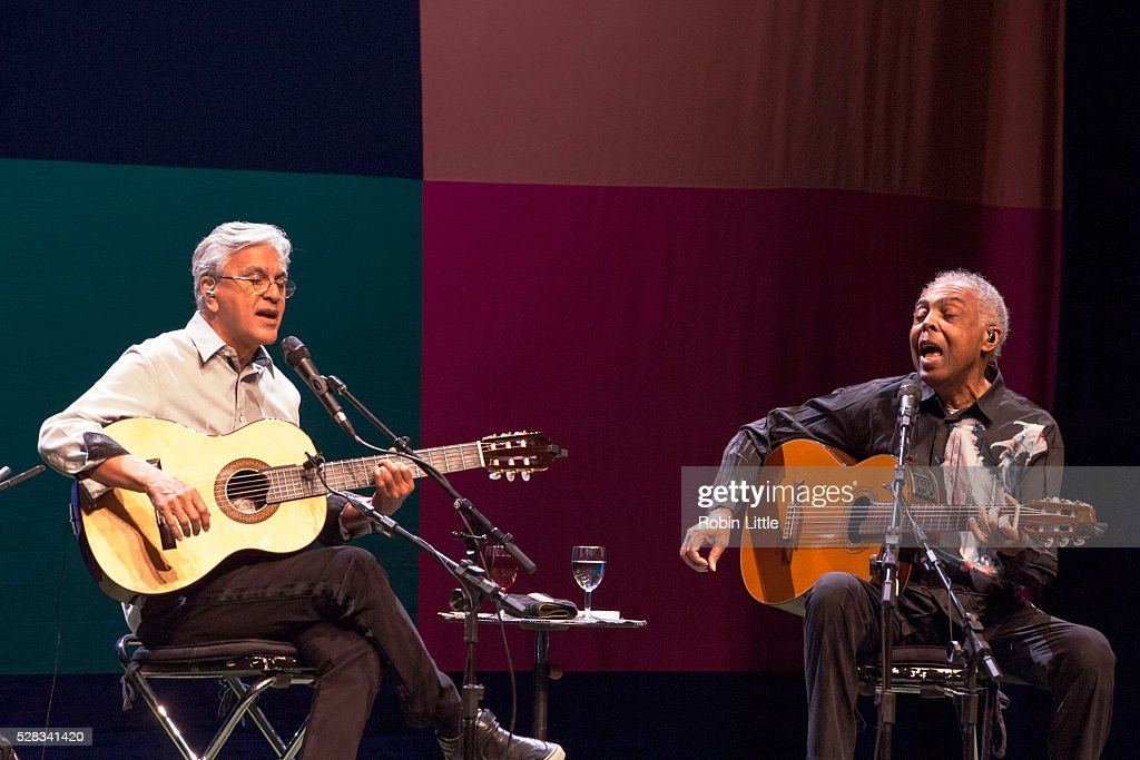 <a gi-track='captionPersonalityLinkClicked' href=/galleries/search?phrase=Caetano+Veloso&family=editorial&specificpeople=567425 ng-click='$event.stopPropagation()'>Caetano Veloso</a> and <a gi-track='captionPersonalityLinkClicked' href=/galleries/search?phrase=Gilberto+Gil&family=editorial&specificpeople=227200 ng-click='$event.stopPropagation()'>Gilberto Gil</a> perform at Barbican Centre on May 4, 2016 in London, England.
