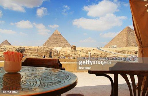 Cafe at Giza