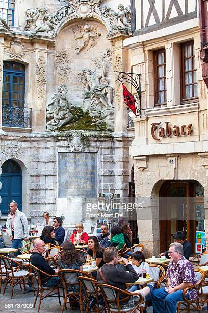 Cafe at Gros Horloge