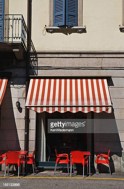 Cafe Beneath the Red Awning