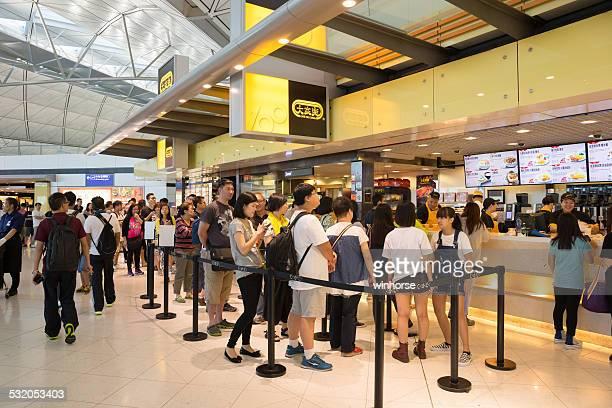 Cafe de Coral in Hong Kong International Airport