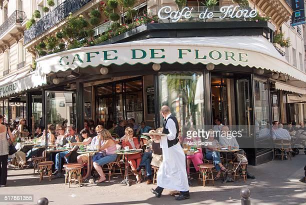 Cafe de Flore SaintGermaindesPres Paris France