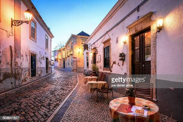 Cafe in Faro Old Town