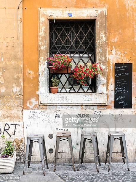 Cafe in Trastevere