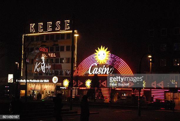 Cafe Keese und Casino bei Nacht Reeperbahn Hamburg Deutschland Europa Beleuchtung Reise BB DIG PNr 772/2013