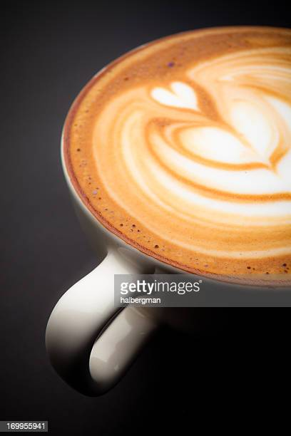 Cafe Latte Schaumstoff-Art
