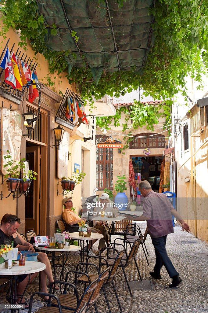 Cafe on Rhodes