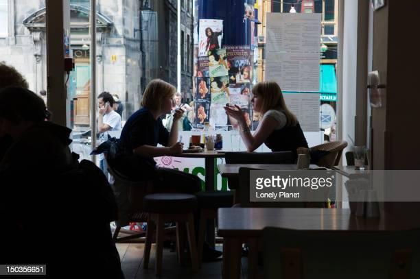 Cafe on Royal Mile.