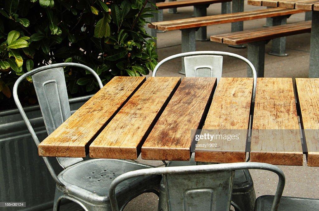 Café salle à manger du Patio extérieur : Photo