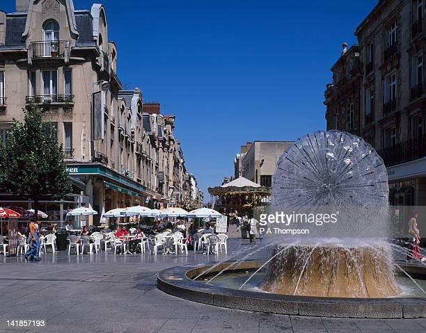 Cafe, Place D Erlon, Reims, Marne, France
