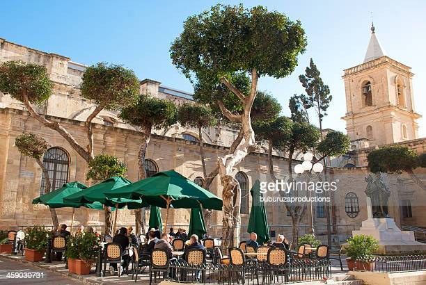 Cafe Scene in Malta
