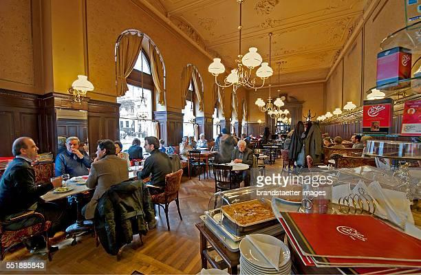 Cafe Sperl in Vienna 2013 Photograph by Gerhard Trumler