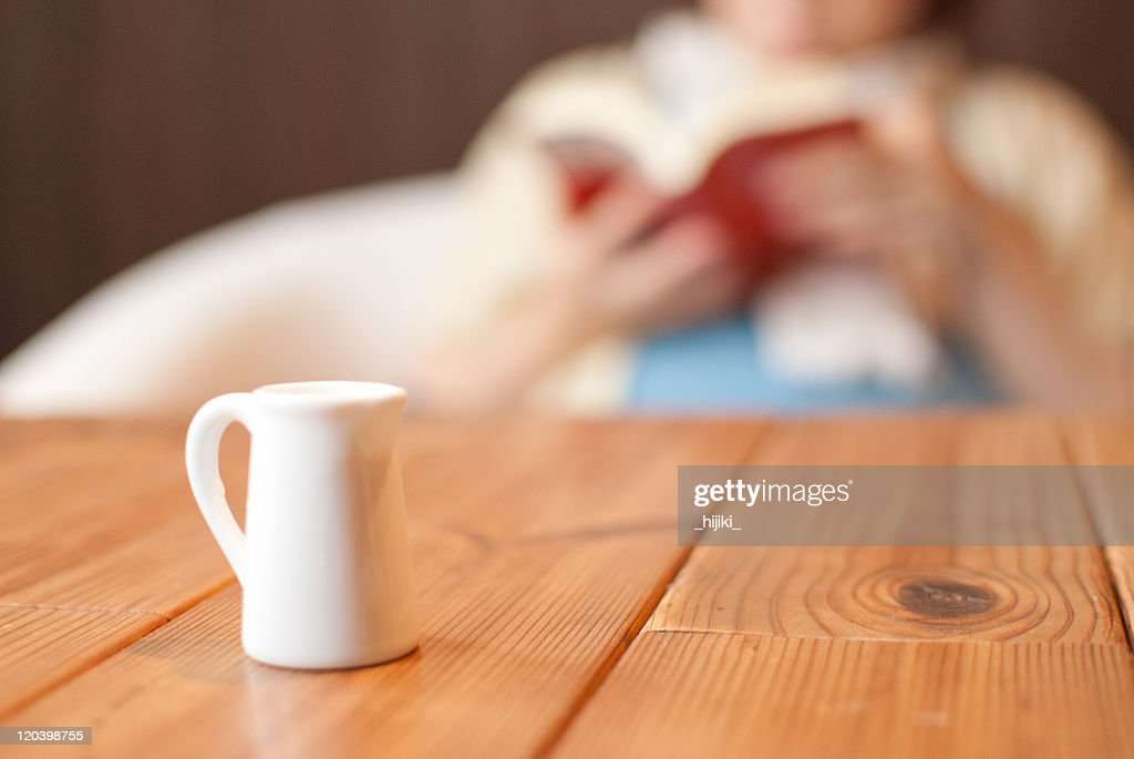 Cafe table : Stock Photo