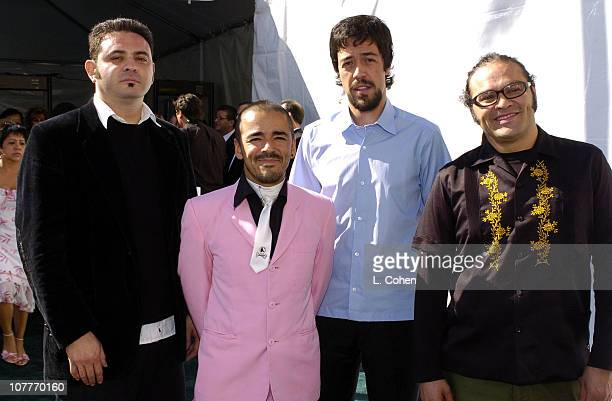Cafe Tacuba during The 5th Annual Latin GRAMMY Awards Green Carpet at Shrine Auditorium in Los Angeles California United States