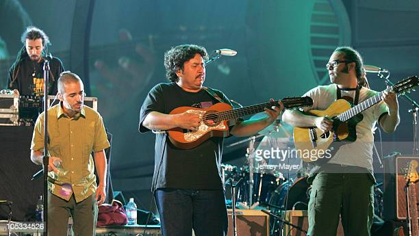 Cafe Tacuba during The 5th Annual Latin Grammy Awards Rehearsals Day Two at Shrine Auditorium in Los Angeles California United States