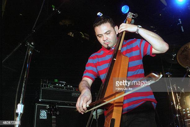 Cafe Tacuba performing at Bowery Ballroom on Tuesday night August 5 2003This imageEnrique 'Quique' Rangel Arroyo