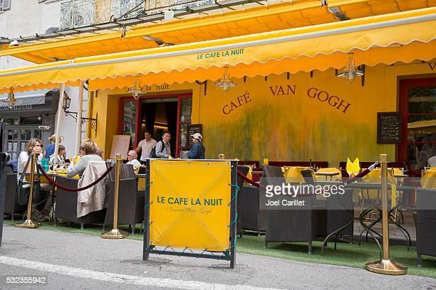 Café Van Gogh à Arles, en France