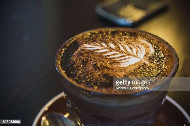 Caffè mocha Latte Art