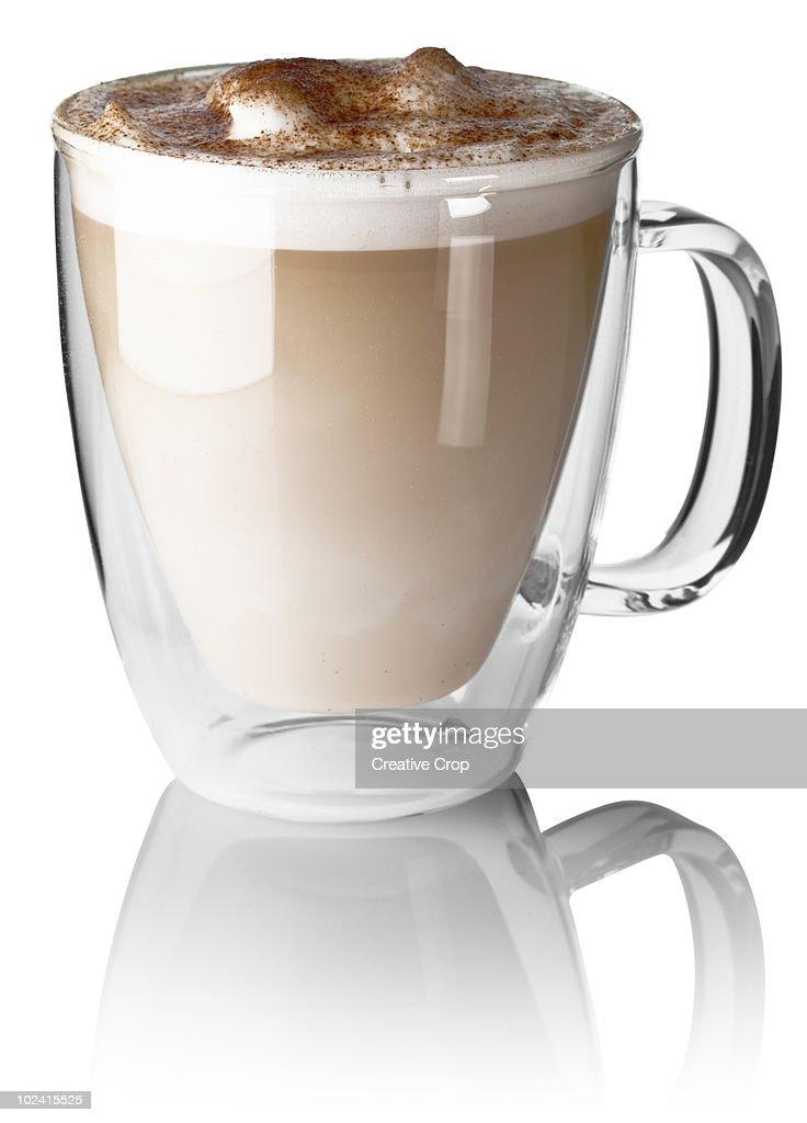 Caffe latte : Stock Photo