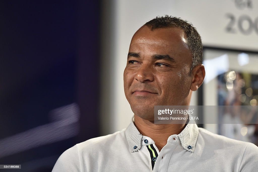 Cafu looks on during the Festival Gallery prior to the UEFA Champions League Final at Stadio Giuseppe Meazza on May 25, 2016 in Milan, Italy.