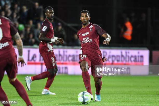 Cafu Of Metz during the Ligue 1 match between FC Metz and AS Monaco on August 18 2017 in Metz