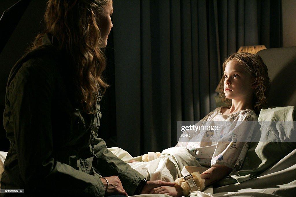 UNIT 'Cage' Episode 8 Pictured Connie Nielsen as Detective Dani Beck Elle Fanning as Eden