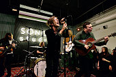 Cage The Elephant performs at an evening presented by Sonos and Pandora at Sonos Studio on February 3 2015 in Los Angeles California