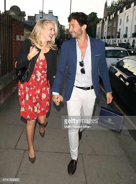 Caggie Dunlop attending the Taylor Morris Collection Launch Party on May 20 2015 in London England