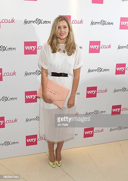 Caggie Dunlop attends the launch party for the Verycouk SS14 collection at Claridges Hotel on September 12 2013 in London England