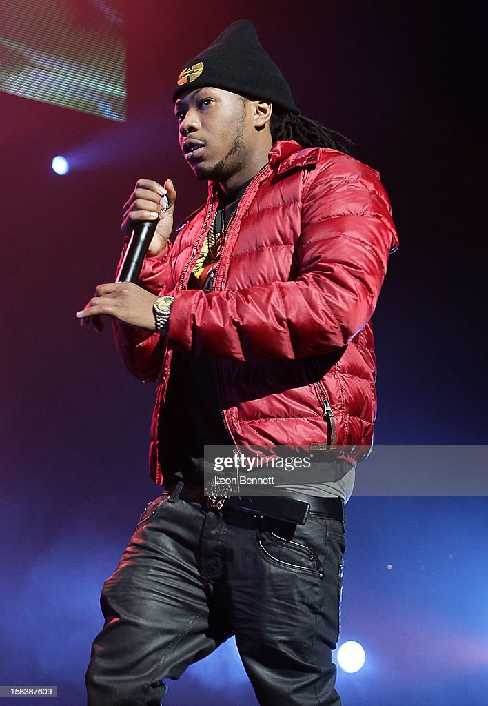 Ca$h Out performs at Power 106FM Presents CaliChristmas at Gibson Amphitheatre on December 14, 2012 in Universal City, California.