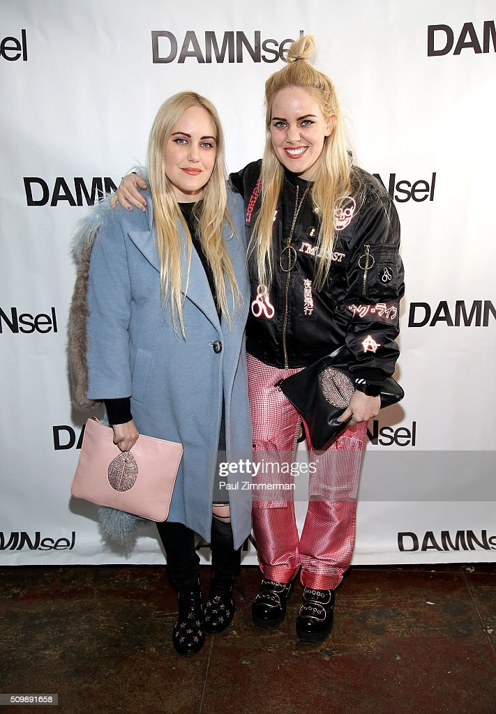 Cailli Beckerman (L) and Sam Beckerman attend the Presentation - Fall 2016 New York Fashion Week at Openhouse Gallery on February 12, 2016 in New York City.