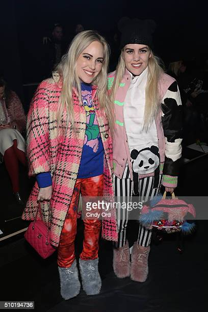 Cailli Beckerman and Sam Beckerman attend the Tome Fall 2016 fashion show during New York Fashion Week The Shows at The Dock Skylight at Moynihan...