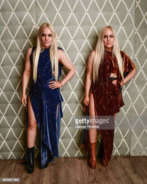 Cailli Beckerman and Sam Beckerman pose in the 2017 Canadian Arts And Fashion Awards Portrait Studio at the Fairmont Royal York Hotel on April 7 2017...