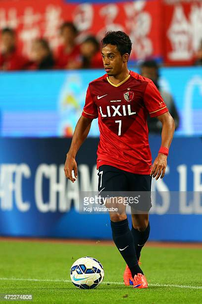 Caio of Kashima Antlers in action during the AFC Champions League Group H match between Kashima Antlers and FC Seoul at Kashima Stadium on May 5 2015...