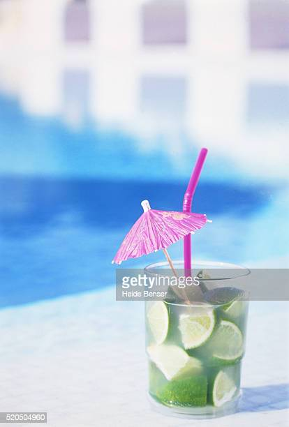 Caipirinha at pool