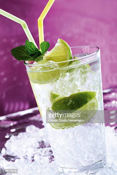 Caipirinha, close-up
