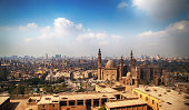 View over Islamic Cairo from the Citadel