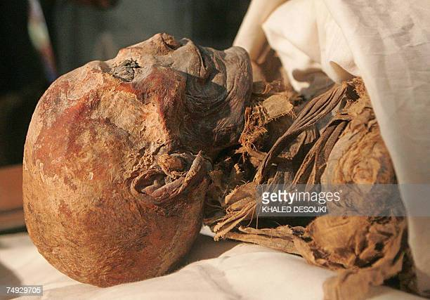 CORRECTING BYLINE The mummified remains of Queen Hatshepsut ancient Egypt's most famous female pharaoh lie in a glass case under the national flag...