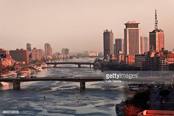 cairo from nile river