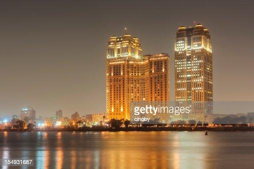 Cairo Skyline - Fairmont Nile City Towers