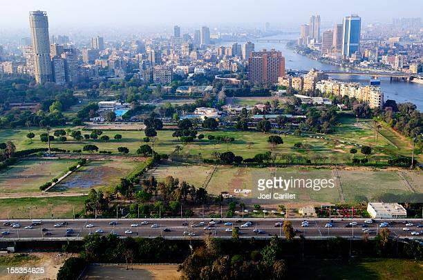 skyline del Cairo in Egitto