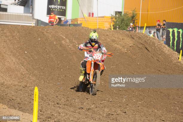 222 Cairoli Antonio KTM ITA FMI Red Bull KTM Factory Racing disappointed not to have won crossing the finish line RACE MXGP World Championship...