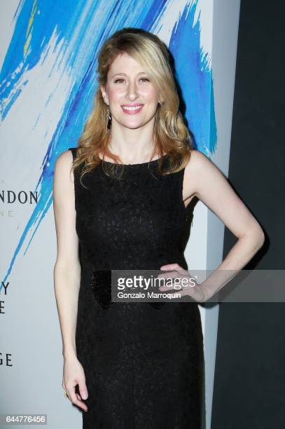 Caissie Levy attended 'Sunday In The Park With George' on Opening Night at The Hudson Theatre on February 23 2017 in New York City