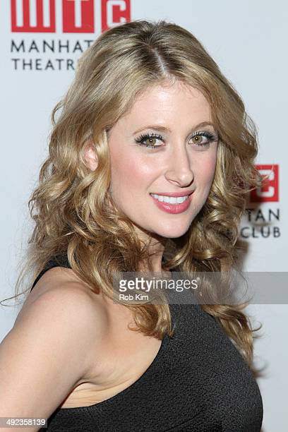 Caissie Levy attends the 2014 Manhattan Theatre Club Spring Gala at Cipriani 42nd Street on May 19 2014 in New York City