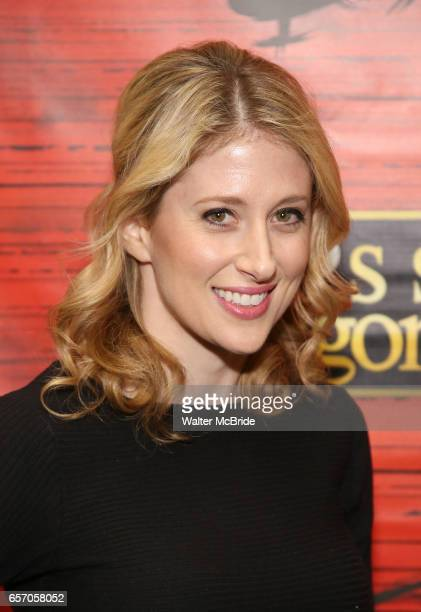 Cassie Levy attends The Opening Night of the New Broadway Production of 'Miss Saigon' at the Broadway Theatre on March 23 2017 in New York City